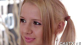 Teen in a reality porn scene feature film 1