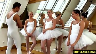 Orgy In Ballet Classroom